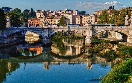 Saint Angelos Bridge, Europe, Bridge, Architecture