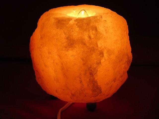 Salt Lamp, Kłodawa, Volcano, Electric Light With Salt