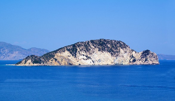 Marathonisi Island, Zakynthos, Greece