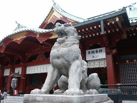 Kanda Myojin, Shrine, Guardian Dogs, Kanda
