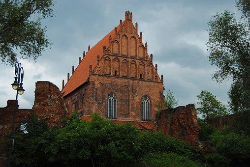 Elbląg, Poland, Monument, Church, Architecture