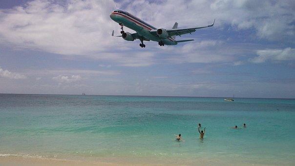 Caribs, Saint-martin, Beach