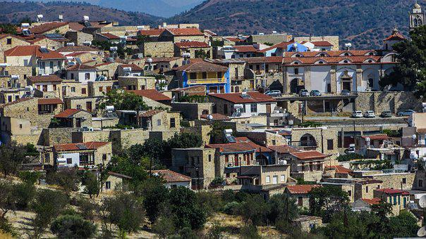 Cyprus, Lefkara, Village, Traditional, Architecture
