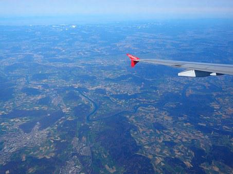 Aerial View, Aerial View Aufnahmn, Alpine, Mountains