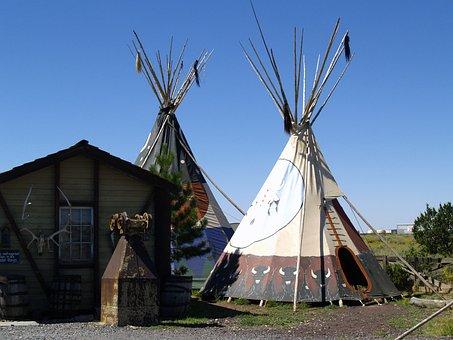 Indian, Native, Ti Pi, Tent, Arizona, Usa