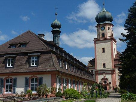Monastery, Trudbert St, Staufen, Church