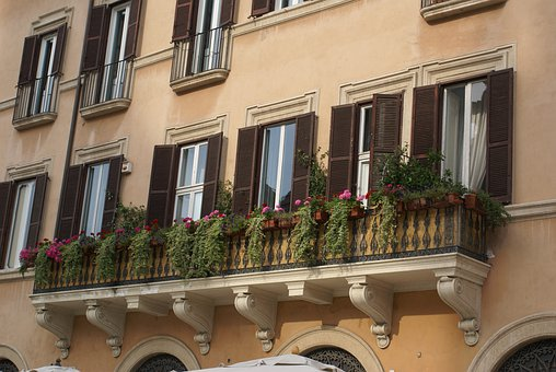Windows, Flowers, Mediterranean, Window, Design