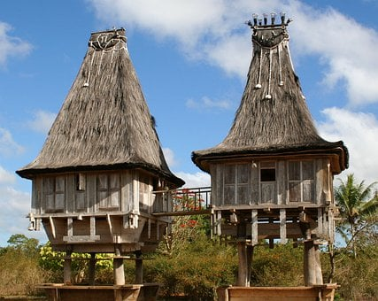Wooden, Timor-leste, Traditional, Asia, Architecture