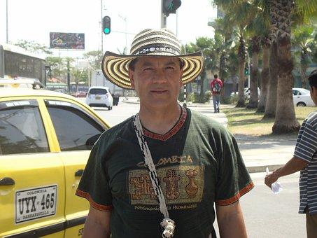 Barranquilla, Colombia, Walk Bolivar, Tourist