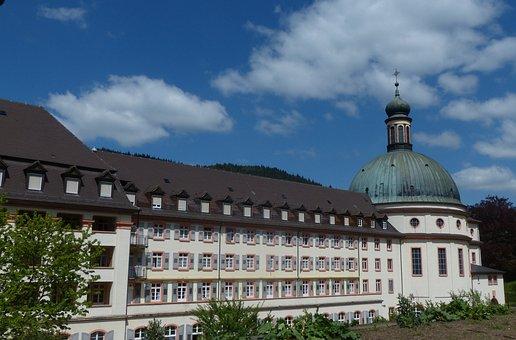 Monastery, Trudbert St, Staufen, Building