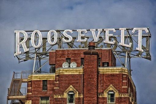Seattle, Washington, Roosevelt Hotel, Hdr, Sky, Clouds