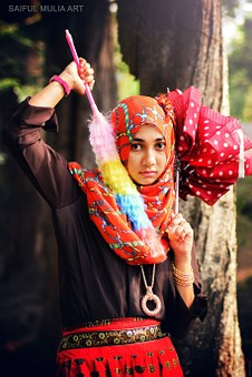 Girl, Woman, Islamic, Islam, Arab, Arabic, Susi Amalia