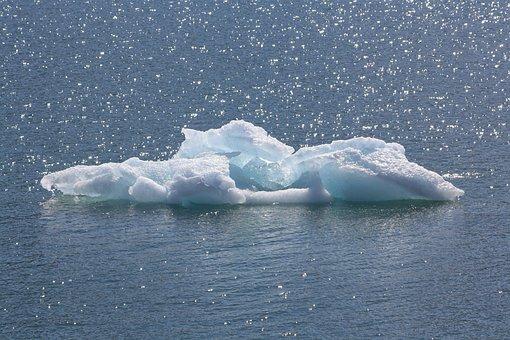 Ice Floe, Sea, Arctic, Iceberg