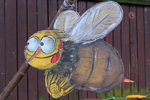 Thanksgiving, Cardboard Figure, Bee, Maya Bee