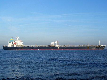 Bering Sea, Ship, Vessel, Freight, Cargo, Logistics