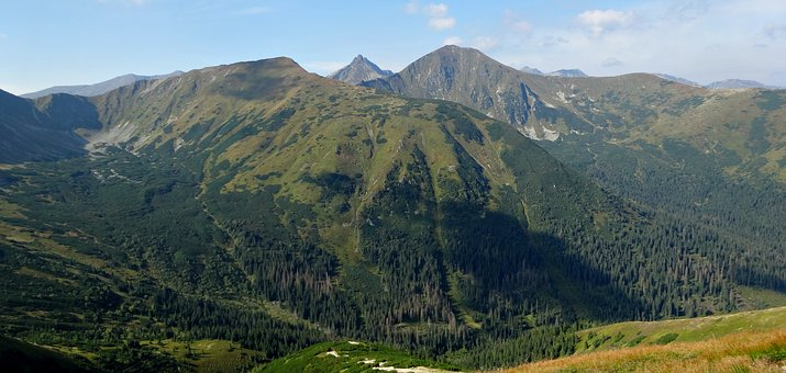 Tatry, Mountains, Views Of Volovets, Landscape, Poland