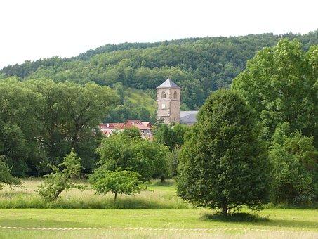 Creutzburg, Place, Werra Valley, Thuringia Germany