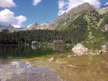 Popradské Lake, Vysoké Tatry, Lake, Nature, Travel