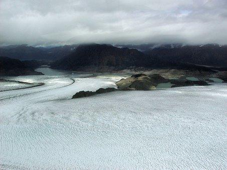 Alsek Glacier, Glacier Bay, Alaska, Usa, Ice, Snow