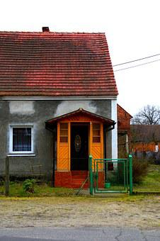 Lubuskie, Bower, The Door, West Polish, Poland, House