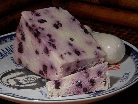 Blueberry Stilton Cheese, Milk Product, Food