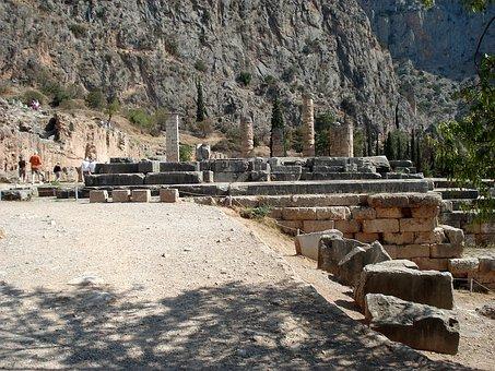 Delphi, Greece, Oracle, Central Greece