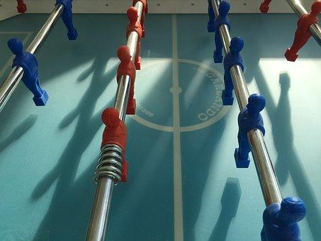 Tischfussball, Töggele, Fusballkasten, Play, Fun