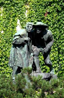 Skulptur, Ottoburg, Innsbruck, Austria, Garden
