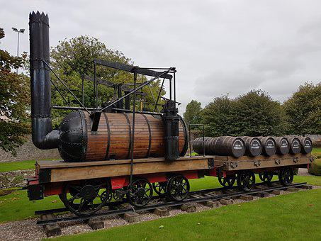 Ireland, Train, Jameson, Whiskey Barrel
