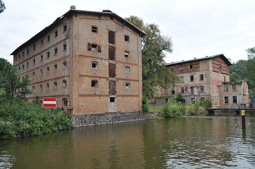 Müritz, Home, Ruin, Steinfoerde