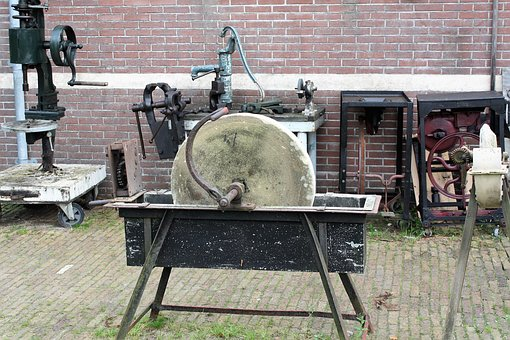 Grinding Stone, Grinding, Old, Craft