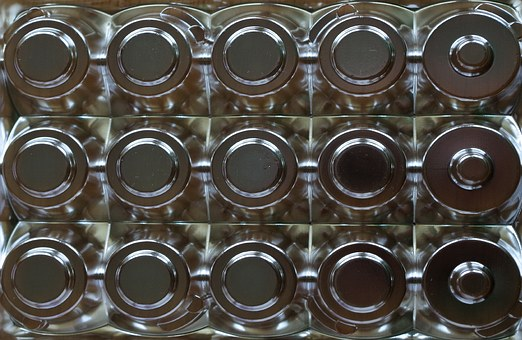 Chocolatetray, Plastic, Shapes, Pattern, Circles