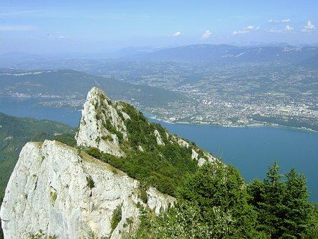 The Dent Du Chat, Les Bains, The Savoie