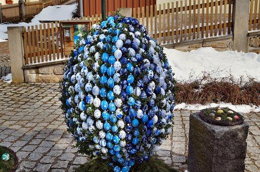 Easter Egg, Colorful, Egg, Easter, Art, Easter Bunny