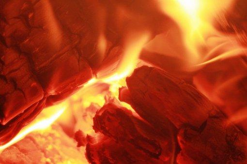 Fire, Wood Fire, Embers, Heat, Heiss, Brand, Oven Fire
