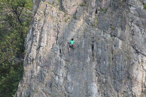 Bristol, Rock, Freeclimber