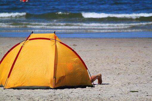 Sea, Beach, Colorful, Water, Wave, North Sea, Surf