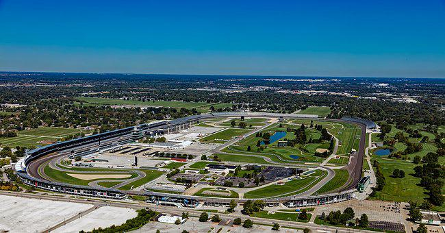 Indianapolis Motor Speedway, Aerial View, Auto Racing