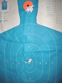 Target, Target Practice, Gun Range, Shooting, Aiming