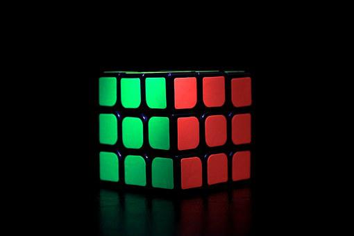 Rubiks Cube, Game, Cube, Toy, Puzzle, Square, Colorful