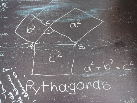 Pythagoras, Mathematics, Formal, Triangle, Square Root