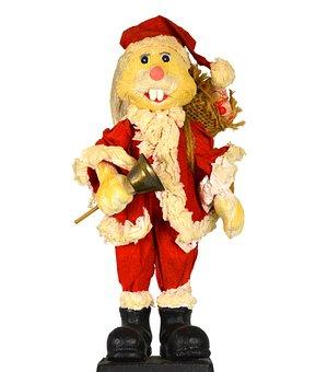 Christmas Hase, Santa Claus, Santa Hase, Easter Bunny