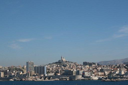 France, Marseille, The Good Mother, Port, City