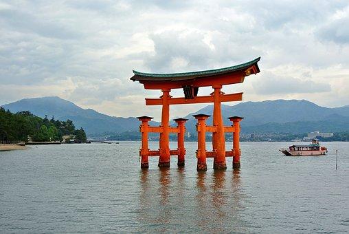 Miyajima, Gate, Tori