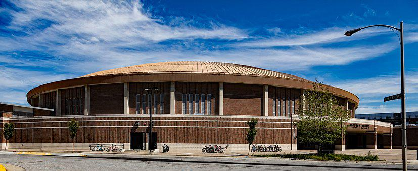 Mackey Arena, Building, Architecture, Purdue University