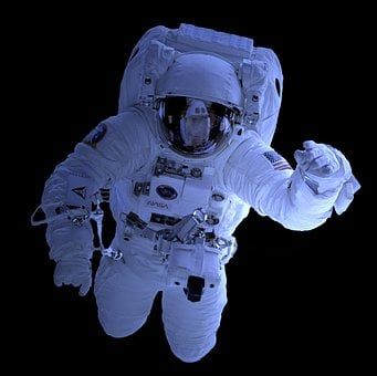 Astronaut, Isolated, Nasa, Space Travel