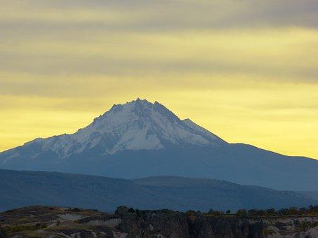 Volcano, Vulkanerciyes, Erciyes Dağı, Went Out, Tufa