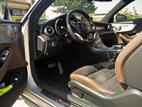 C-coupe, W205, Inside, Mercedes, Benz, Auto, Interior