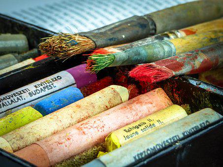 Brush, Chalk, Pastel, Color, Drawing, Art, Colors