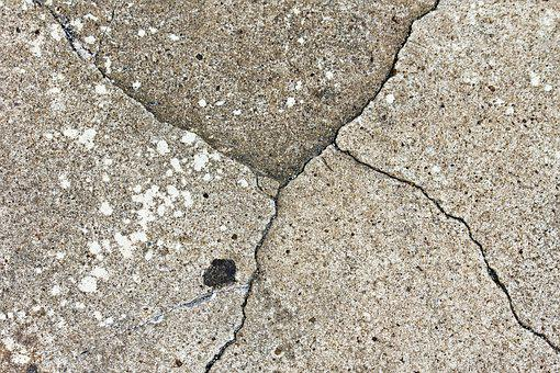 Cracks, Old, Cement, Rough, Grunge, Textured, Weathered